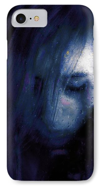 Rainy Day Blues IPhone Case by Gun Legler