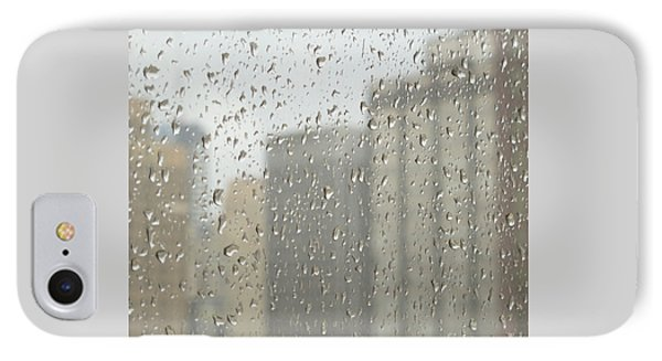 Rainy Day City Phone Case by Ann Horn