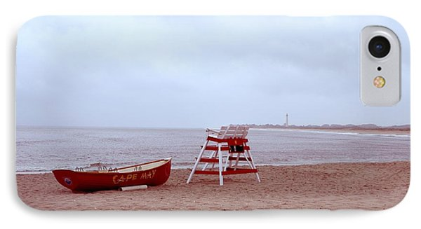 Rainy Day In Cape May Phone Case by Bill Cannon