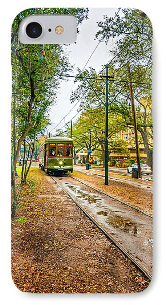 Rainy Day New Orleans IPhone Case by Steve Harrington