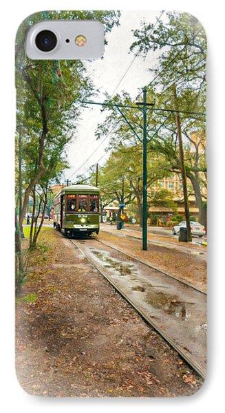 Rainy Day New Orleans Vignette IPhone Case by Steve Harrington