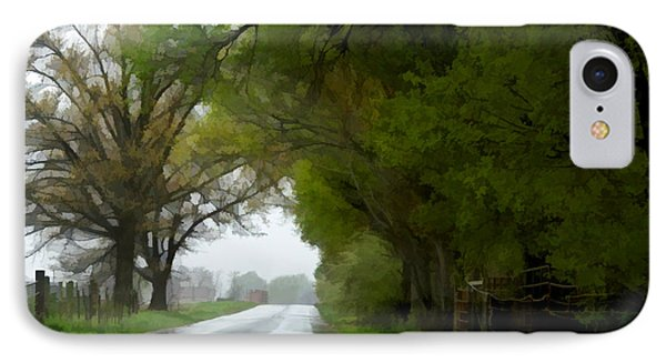 Rainy day road digital paint 1 photograph by debbie portwood for Road case paint