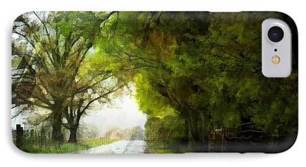 Rainy day road digital paint 2 photograph by debbie portwood for Road case paint