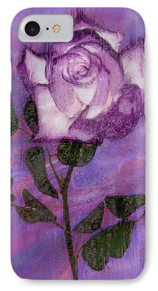 Rainy Day Rose IPhone Case by Jack Zulli