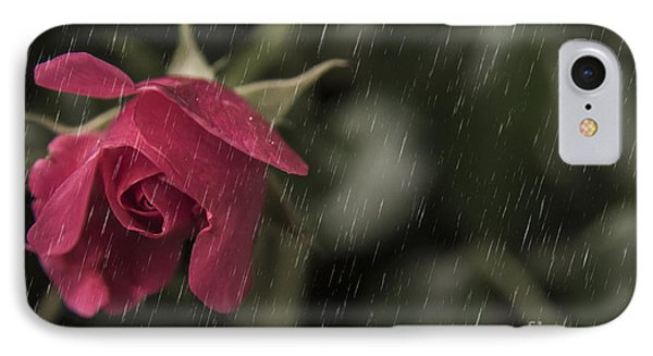 Rainy Days And Roses IPhone Case by Billie-Jo Miller