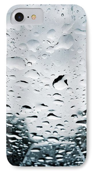Rainy IPhone Case by HD Connelly