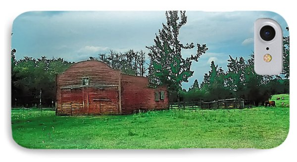 Rainy Pasture Phone Case by Terry Reynoldson