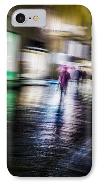 IPhone Case featuring the photograph Rainy Streets by Alex Lapidus