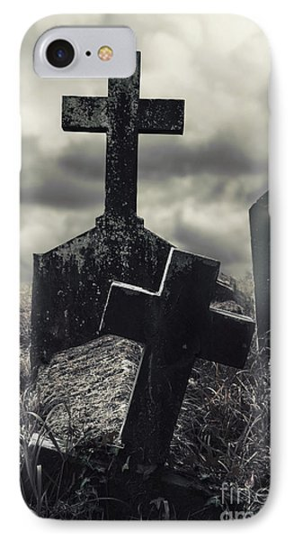 Raising The Dead IPhone Case by Margie Hurwich