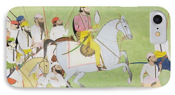 Rajah Dhian Singh Hunting Phone Case by Indian School