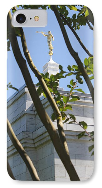 Raleigh Nc Lds Temple Phone Case by Nathanael Verrill