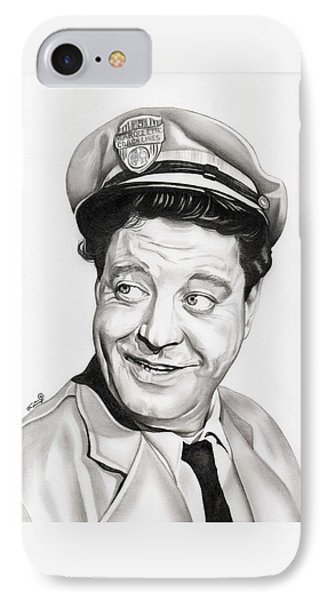 Ralph Kramden IPhone Case by Fred Larucci