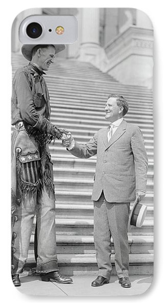 Ralph Madson And Us Senator IPhone Case by Library Of Congress