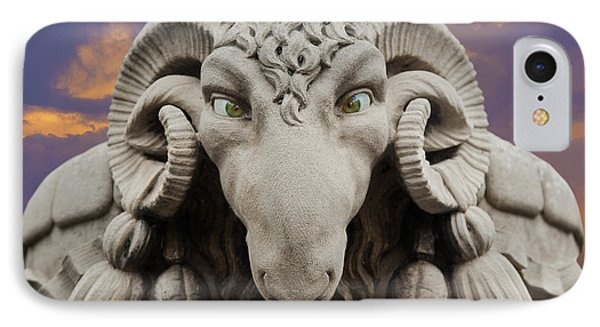 Ram-a-sees IPhone Case by David Davies