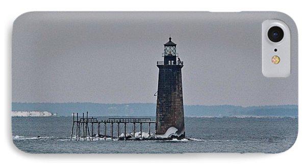 Ram Island Ledge Light_9949 IPhone Case by Joseph Marquis