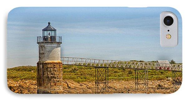 Ram Island Lighthouse Phone Case by Karol Livote