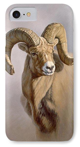 Ram Portrait IPhone Case by Paul Krapf