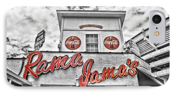 Rama Jama's Phone Case by Scott Pellegrin