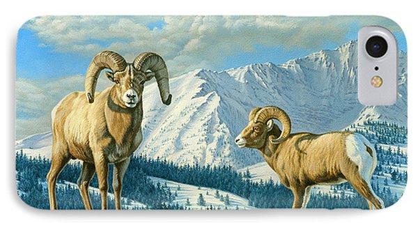 Rams On The Ridge  IPhone Case