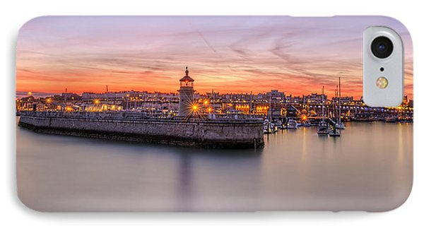 Ramsgate Harbour Summer Sunset  IPhone Case