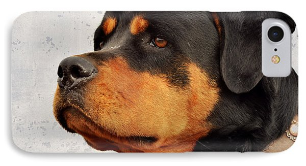 Ranch Dog On Watch IPhone Case by Kae Cheatham