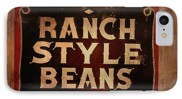 Ranch Style Beans IPhone Case by Toni Hopper