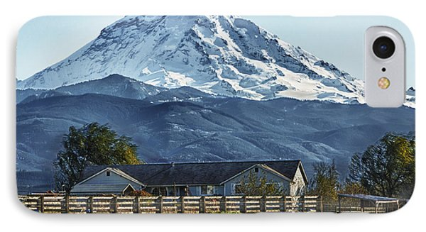Ranch With A View IPhone Case by Tony Locke