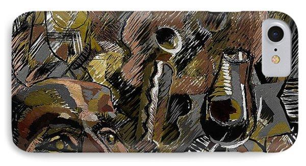 IPhone Case featuring the digital art Ranchera by Clyde Semler