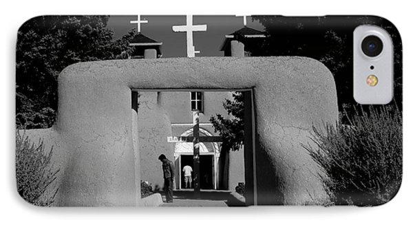 Ranchos De Taos  2 IPhone Case by Jim McCain