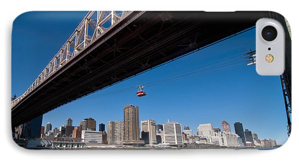 Randall Island Tram Phone Case by Amy Cicconi