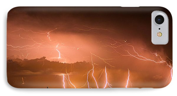 Randall Lightning IPhone Case