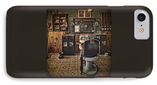 Randsburg Barber Shop Interior IPhone Case