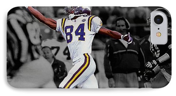 Randy Moss IPhone Case by Brian Reaves