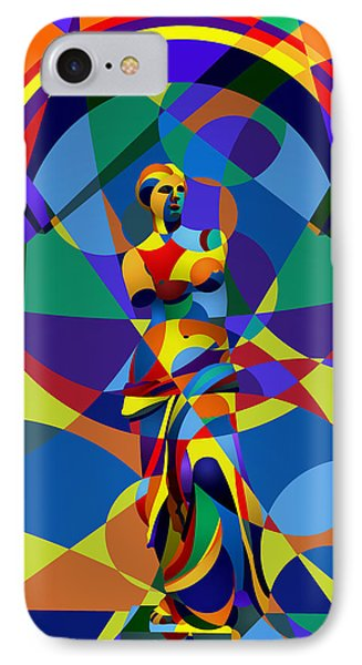 IPhone Case featuring the digital art Randy's Venus by Randall Henrie