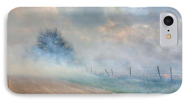 Range Burning Phone Case by JC Findley
