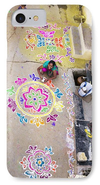 Rangoli Street IPhone Case
