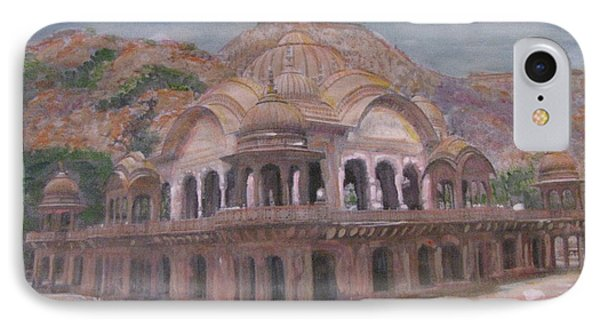 IPhone Case featuring the painting Rani Ki Chatri by Vikram Singh