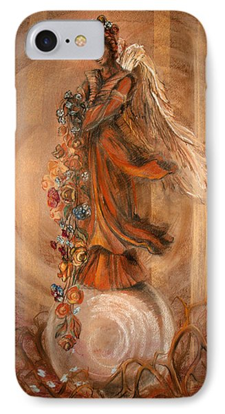 Raphael The Archangel Phone Case by Natalia Lvova