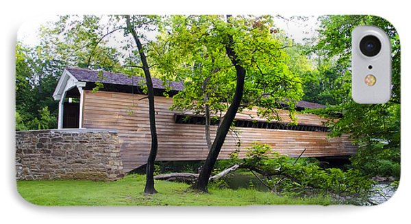 Rapps Covered Bridge Over French Creek IPhone Case