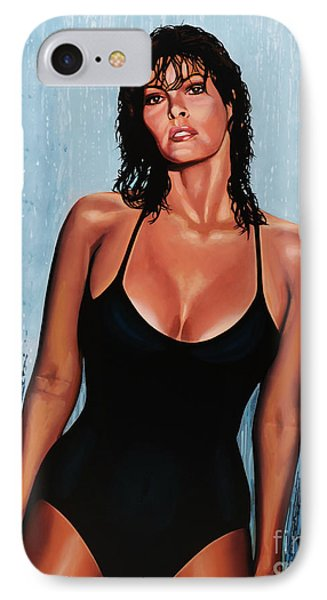 Raquel Welch IPhone 7 Case by Paul Meijering