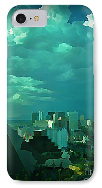 Rare Clouds Over Vegas Phone Case by John Malone
