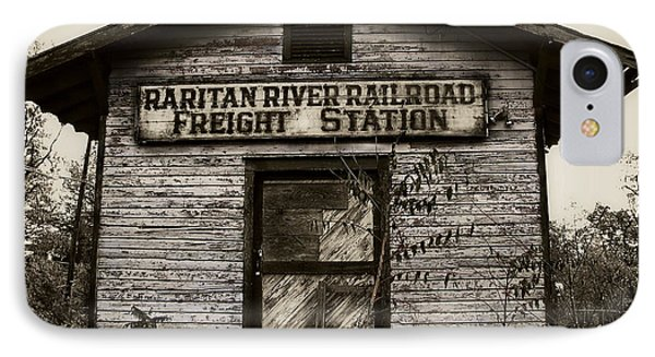 Raritan River Railroad Phone Case by Colleen Kammerer
