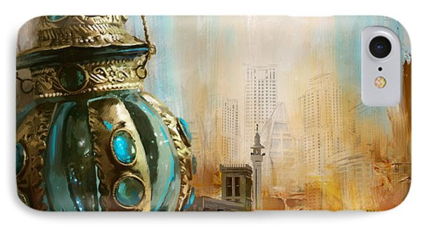 Ras Al Khaimah IPhone Case by Corporate Art Task Force