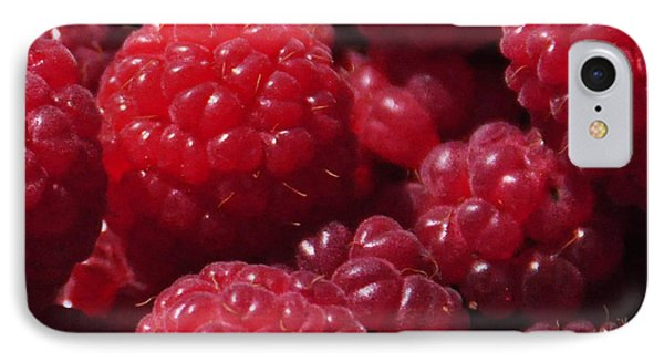 Raspberry Crave Phone Case by Elena Hasnas