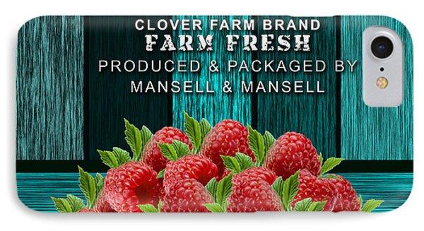 Raspberry Farm IPhone Case by Marvin Blaine
