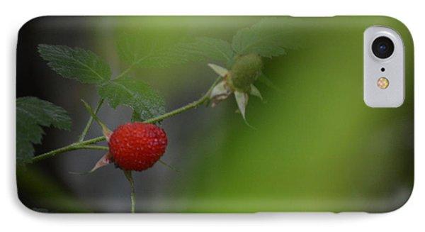Raspberryt In The Jungle IPhone Case