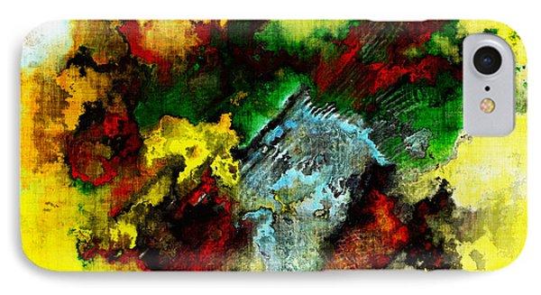Rasta Rain IPhone Case by The Art Of JudiLynn