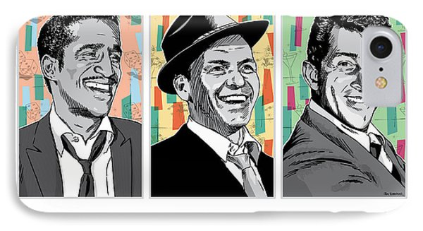 Rat Pack Pop Art IPhone Case