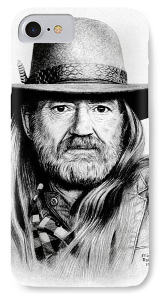 Rattlesnake Willie Phone Case by Mike Roberts
