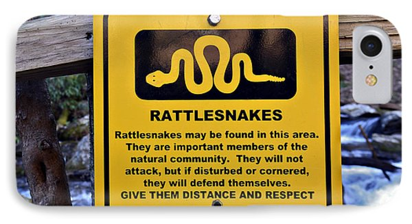 Rattlesnakes Phone Case by Susan Leggett